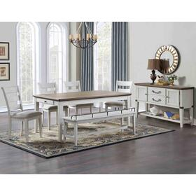 Pendleton 5-Piece Dining Set (Table & 4 Side Chairs)