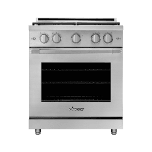 "Dacor30"" Gas Range, Silver Stainless Steel, Liquid Propane"