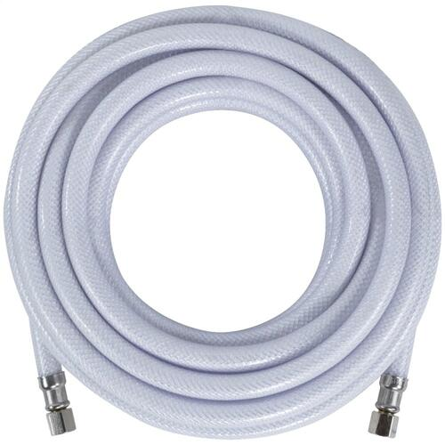 "PVC Ice Maker Connector with 1/4"" Compression, 25ft"