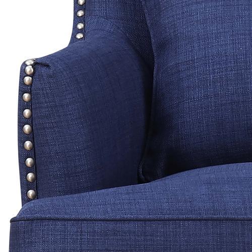 Kori Accent Chair in Blue