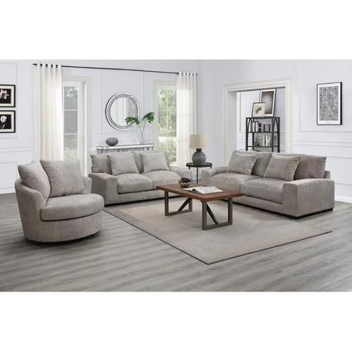See Details - Big Chill Parchment Swivel Chair, AC4439