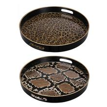 See Details - 43308  S/2 Decorative Trays