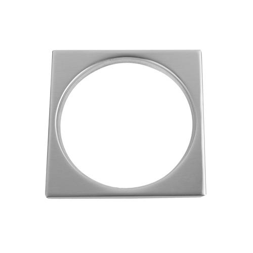 """Product Image - Oil-Rubbed Bronze - Square Tile Flange Shower Drain Plate (4 1/4"""" Square)"""
