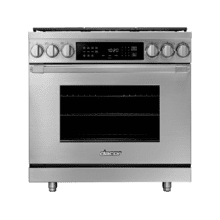 "36"" Dual Fuel Pro Range, DacorMatch, Liquid Propane/High Altitude"