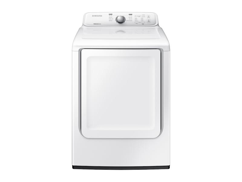 Samsung7.2 Cu. Ft. Gas Dryer With Moisture Sensor In White