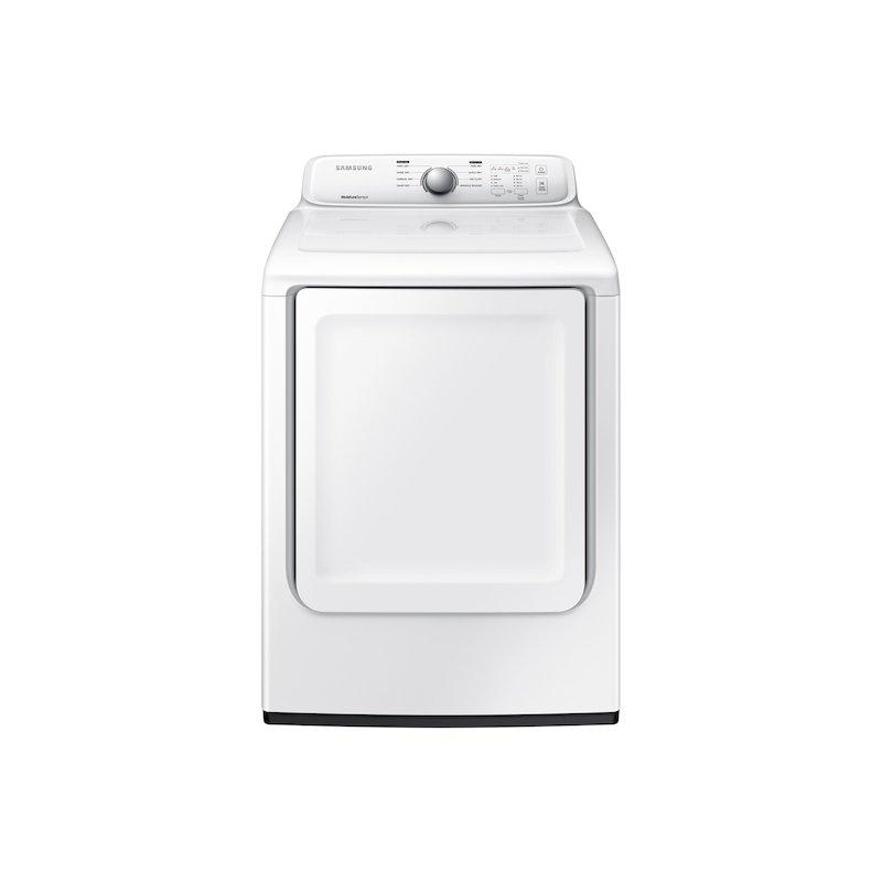 7.2 cu. ft. Gas Dryer with Moisture Sensor in White