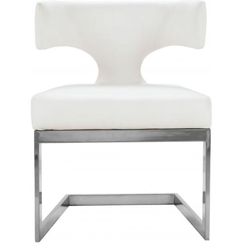 """Alexandra Faux Leather Dining Chair - 22"""" W x 22"""" D x 29"""" H"""