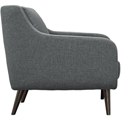 Verve Living Room Set Set of 3 in Gray