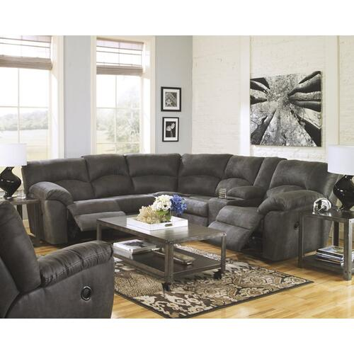 Tambo 3PC Package: Sectional w/ Recliner (27801)