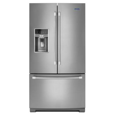 36-inch Wide French Door Refrigerator with Fingerprint Resistant Stainless Steel Exterior - 27 cu. ft. Product Image