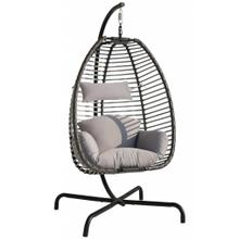 See Details - Spectrum Hanging Chair w/Stand