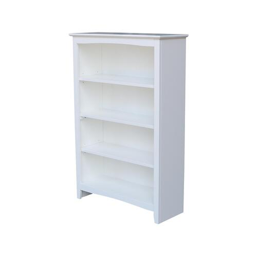 48'' H Shaker Bookcase