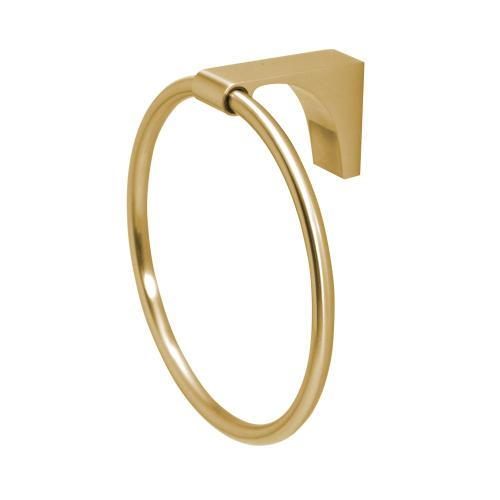 Luna Towel Ring A6840 - Satin Brass