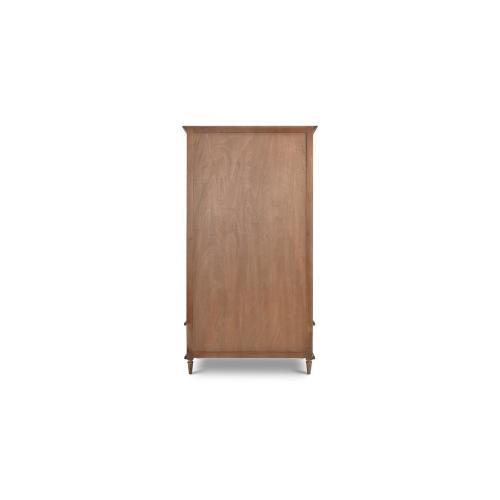 Jamison Wardrobe w/ Rattan Door
