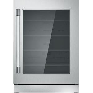 ThermadorFreedom® Glass Door Refrigeration 24'' Professional Stainless steel T24UR920RS