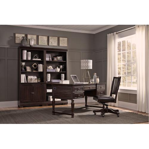 """Aspen Furniture - 60"""" Half-Ped Desk"""