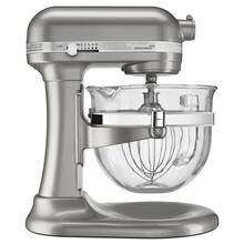 Professional 6500 Design™ Series 6 Quart Bowl-Lift Stand Mixer - Sugar Pearl Silver