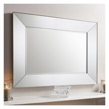 GA Vasto Rectangle Mirror Silver