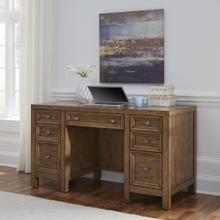 5420-18 Sedona Brown Pedestal Desk