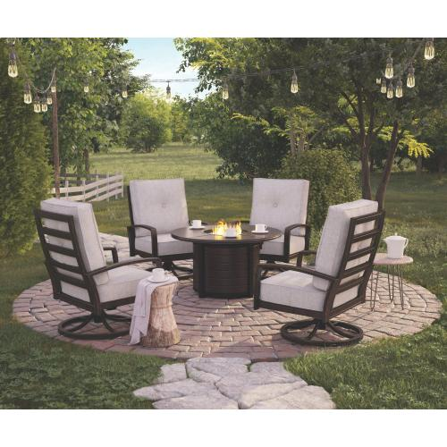 5-piece Outdoor Fire Pit Package