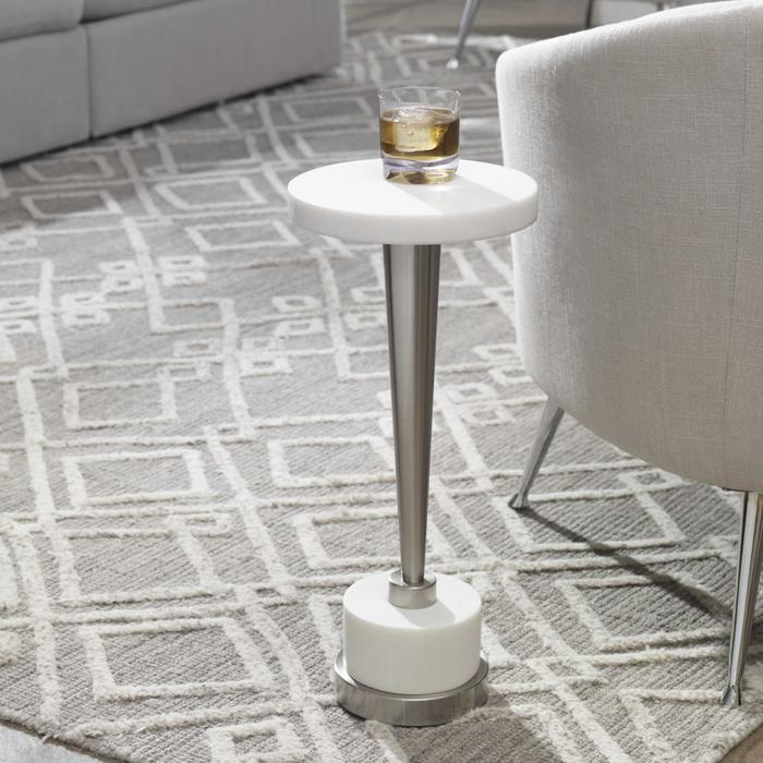 Uttermost - Masika White Drink Table