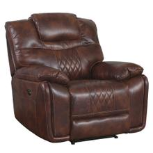 See Details - Power Recliner - Brown Leather Gel (ZY5018A Collection)
