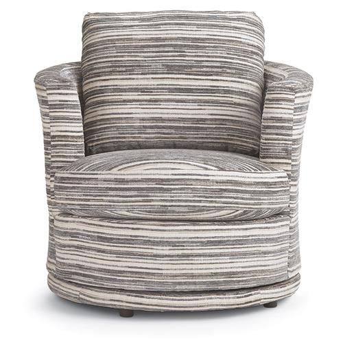 TINA Swivel Barrel Chair