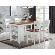 5 PC Island - Kitchen Island and 4 Pub Chairs Product Image