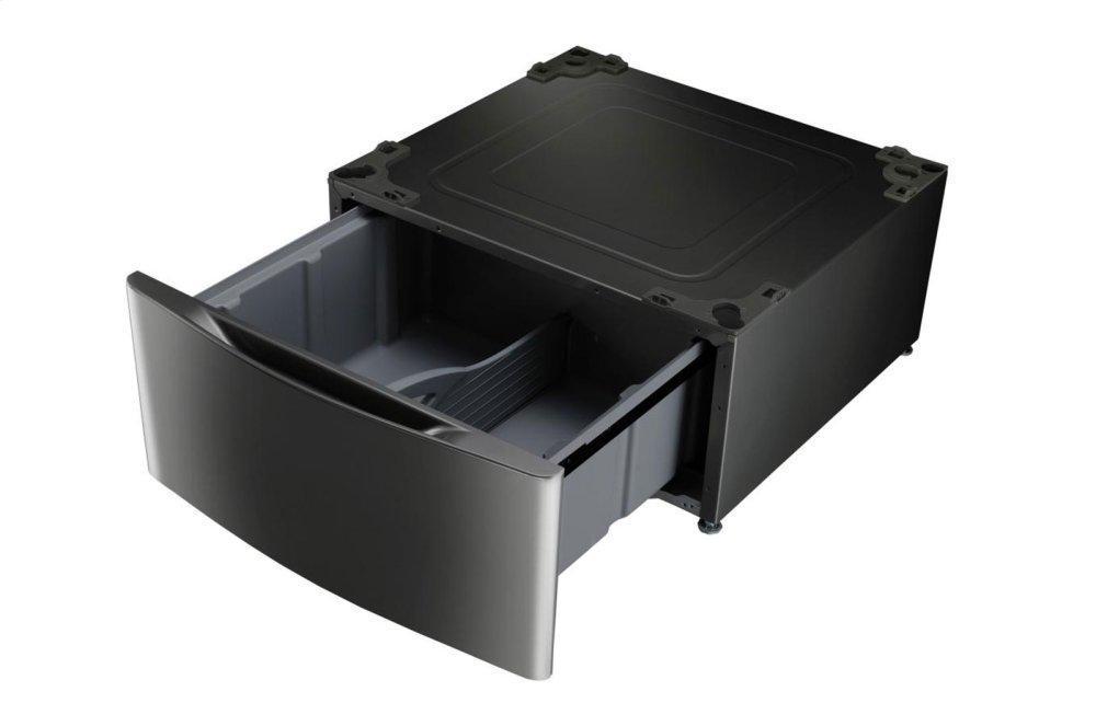 LG AppliancesLaundry Pedestal - Black Stainless Steel
