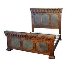 Queen Capitel Copper Bed