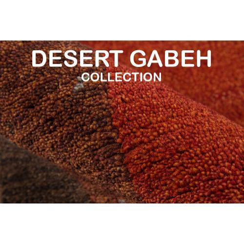 Desert Gabbeh Dg-01 Paprika - 8.0 x 11.0