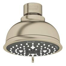 "Tempesta Rustic 100 Shower Head, 4"" - 4 Sprays, 1.75 Gpm"