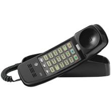 Corded Trimline® Phone with Lighted Keypad (Black)