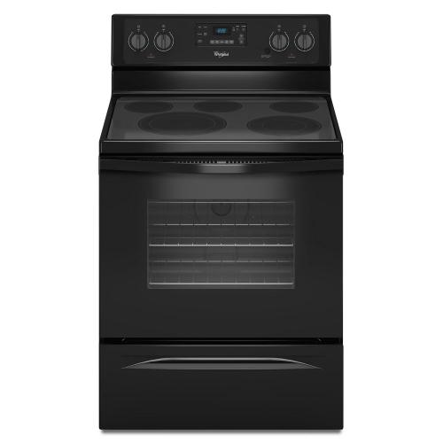 Gallery - 5.3 Cu. Ft. Freestanding Electric Range with High-Heat Self-Cleaning System