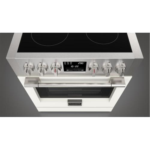 "30"" Induction Pro Range - Matte White"