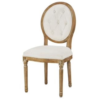 See Details - Meg Tufted Side Chair (washable White)