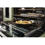Kitchenaid KitchenAid® 48'' Smart Commercial-Style Dual Fuel Range with Griddle - Avocado Cream