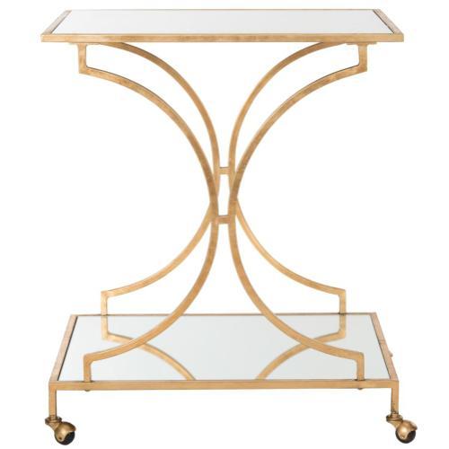 Ignatius Bar Cart - Gold