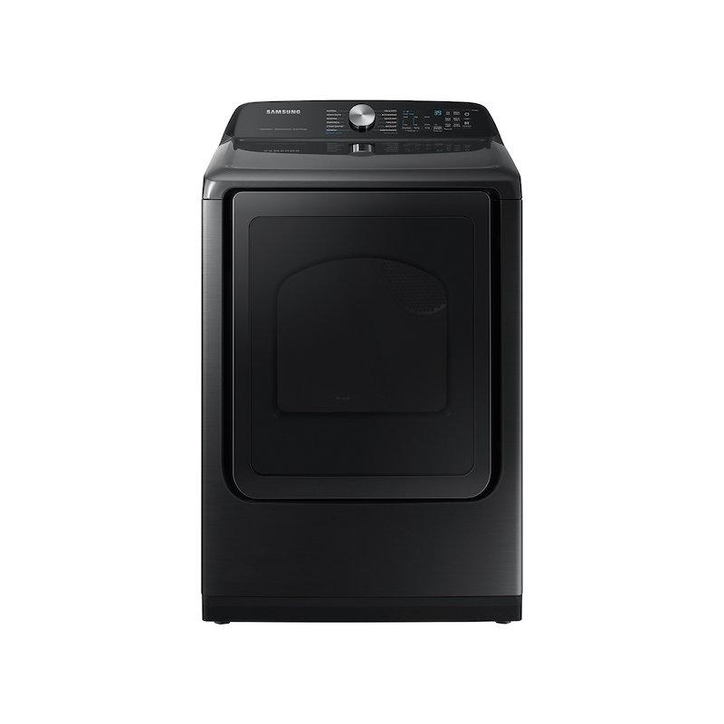 7.4 cu. ft. Smart Electric Dryer with Steam Sanitize+ in Brushed Black