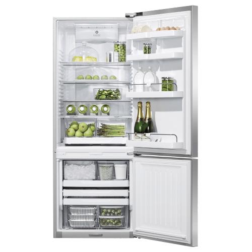 "Fisher & Paykel - Freestanding Refrigerator Freezer, 25"", 13.5 cu ft, Ice & Water"
