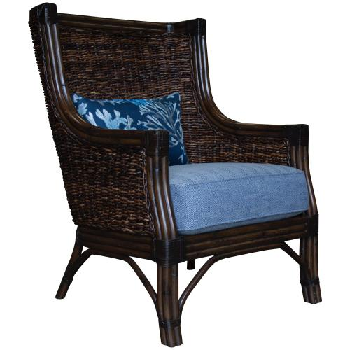 Occassional Chair, Available in Abaca and Seagrass Finish Only.