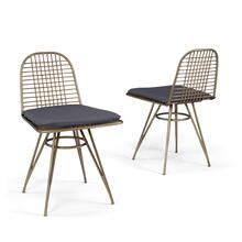 See Details - Panama Chair With Cushion (set of 2)