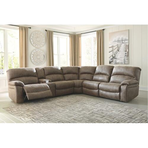 Segburg 4-piece Power Reclining Sectional