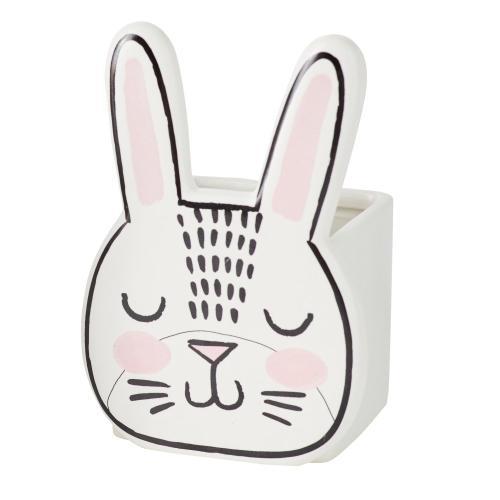 "4""x 5.75"" Bashful Bunny Pot"