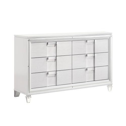 Twenty Nine Youth Dresser in White