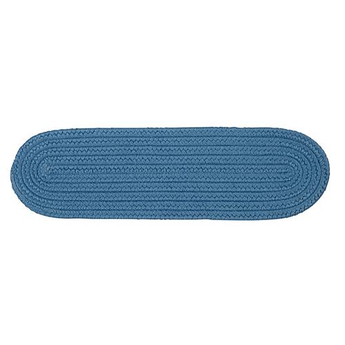 "Boca Raton Stair Tread BR55 Blue Ice 8"" X 28"" (Single)"