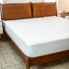 Premium Fitted 100% Waterproof-Hypoallergenic Vinyl Free Mattress Protector - Breathable Smooth Fabric Surface, Twin Size