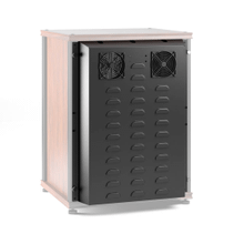"""See Details - Salamander 30\"""" Extended Rear Panel with Active Cooling, Black"""