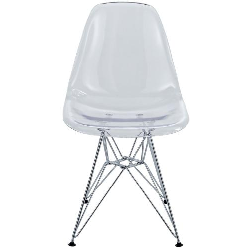 Paris Dining Side Chair in Clear
