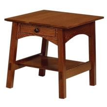 Memphis Open End Table